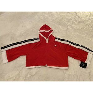 NWT Champion Active Hoodie Womens Sz Small S Red C